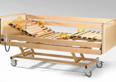 Lit Luna G - Barrières en bois