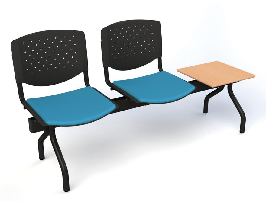 Banc 2 assises + table