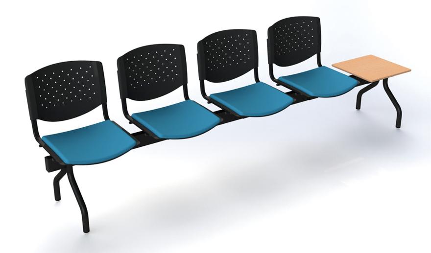 Banc 4 assises + table