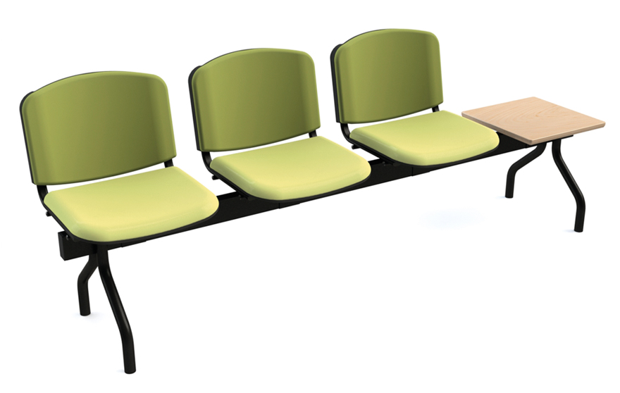 Banc 3 assises + table