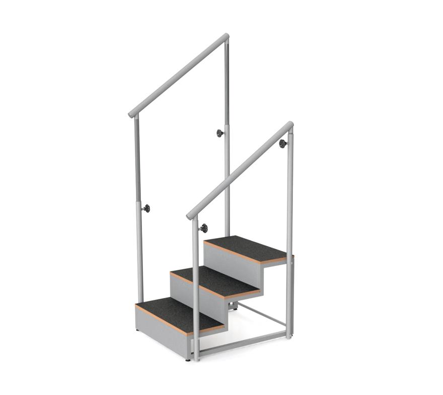 Escalier 3 marches