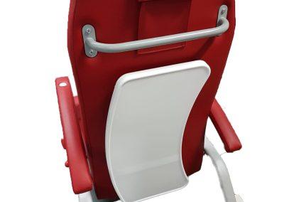Rangement de la tablette du fauteuil zerog